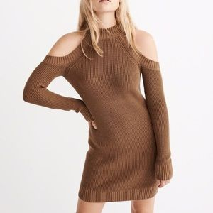 Abercrombie and Fitch Cold Shoulder Sweater dress